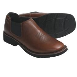 Roper Riderlite2 Shoes - Leather, Slip-On (For Women)