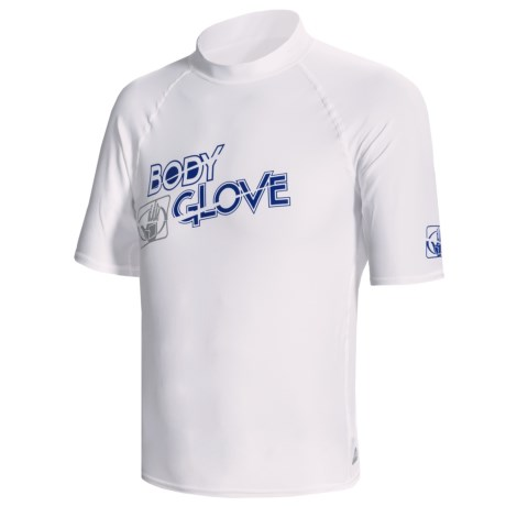 Body Glove Basic 6 oz. Lycra® Rash Guard - Short Sleeve (For Men)