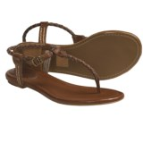 Frye Madison Braided Sandals - Leather (For Women)