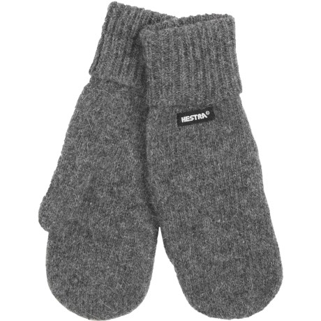 Hestra Pancho Liner Mittens - Lambswool-Angora (For Men and Women)