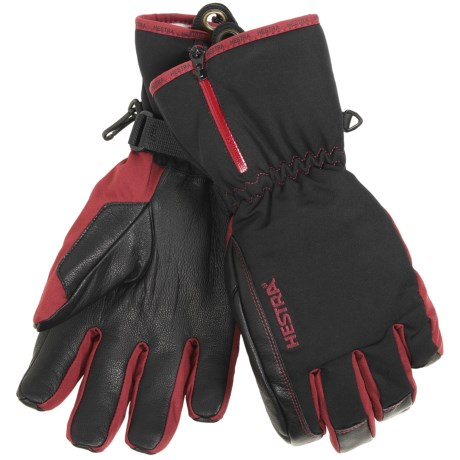 Hestra CZone Leather Gloves - Waterproof, Insulated (For Men)