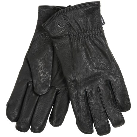 Hestra Deerskin Driver Gloves - Lined (For Men)