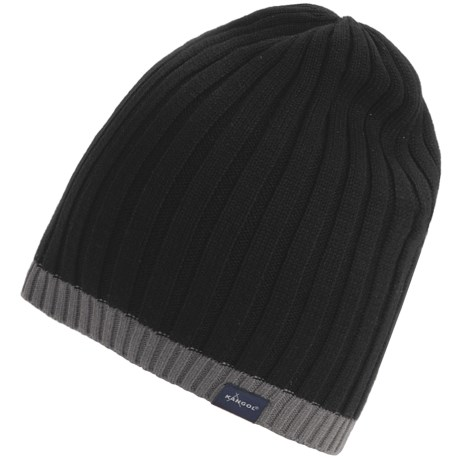 Kangol Multi-Rib Long Pull-On Beanie Hat (For Men)