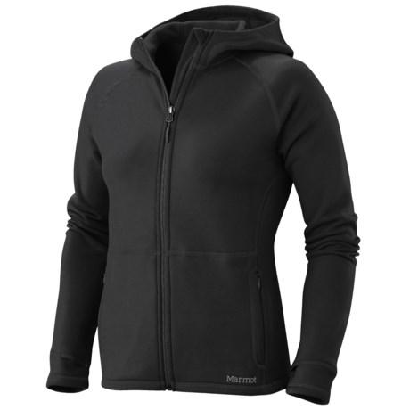 Marmot Polartec® Power Stretch® Hooded Jacket (For Women)