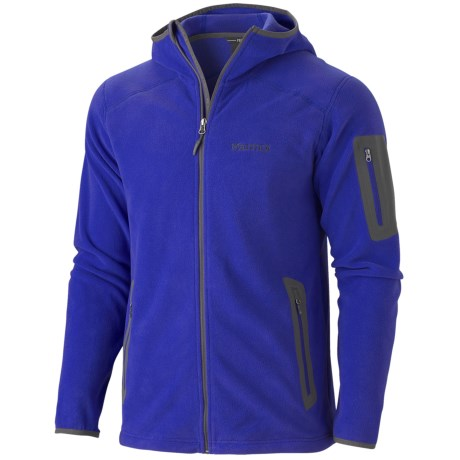 Marmot Reactor Hooded Jacket - Polartec® Fleece (For Men)