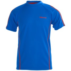 Marmot Doctor D Shirt - UPF 45, Recycled Materials, Short Sleeve (For Boys)