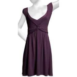 Blue Canoe Twist V-Neck Gown - Sleeveless (For Women)