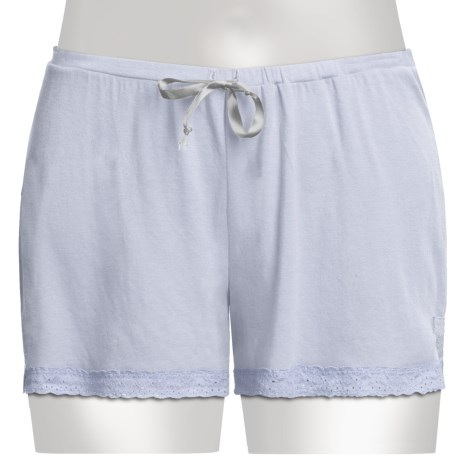Blue Canoe Lace Trim Shortie - Stretch Rayon-Organic Cotton (For Women)