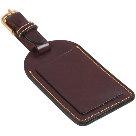Mulholland Leather Luggage Tag