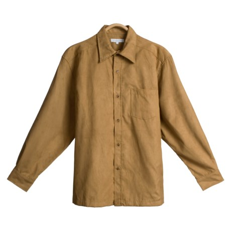 Alex Cannon Microsuede Shirt Jacket -  Long Sleeve (For Men)