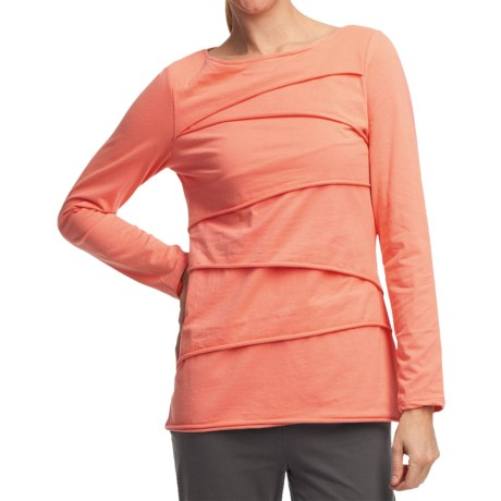 Neon Buddha Beijing Cotton Jersey Shirt - Long Sleeve (For Women)