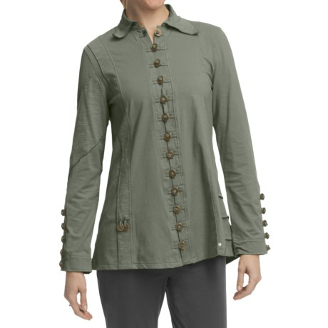 Neon Buddha Dayton Cotton Jersey Jacket (For Women)