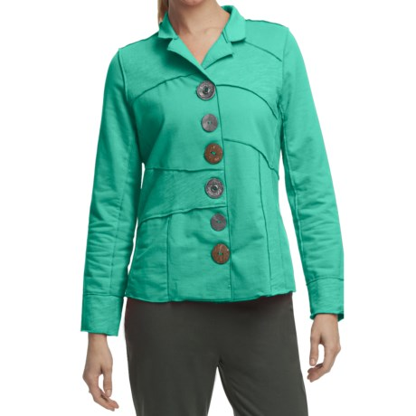 Neon Buddha Merritt Patchwork Jacket - French Terry (For Women)