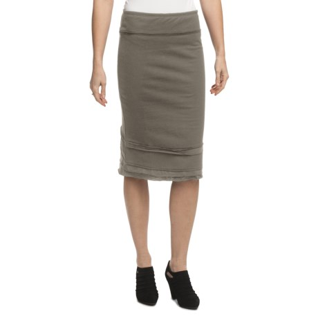 Neon Buddha Ossi French Terry Skirt (For Women)