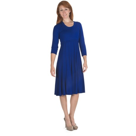 Leslie Fay Sweater Knit Dress - Long Sleeve (For Women)