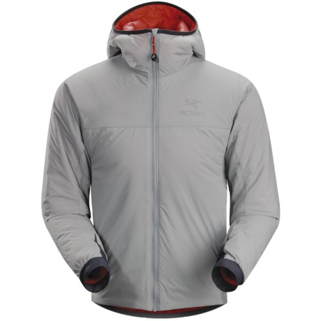 Arc'teryx Atom LT Hooded Jacket - Polartec® Power Stretch®, Insulated (For Men)