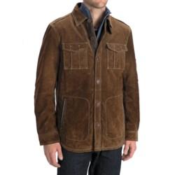 Worn Shirt Jacket - Suede (For Men)