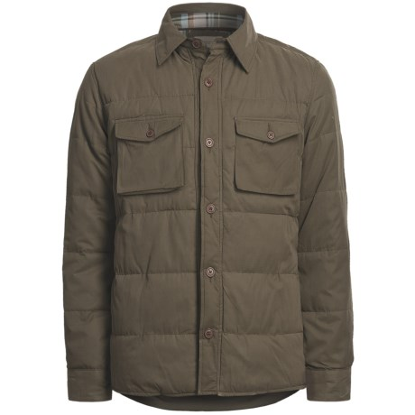 Worn Miller Shirt Jacket - Insulated, Cotton Lining (For Men)