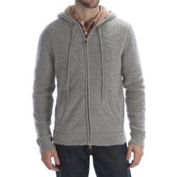Worn Denim Worn Wool-Blend Hoodie Sweater - Full Zip (For Men)