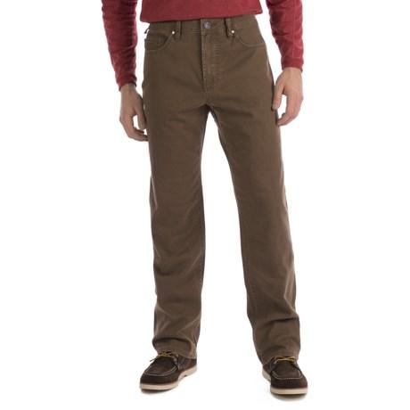 Worn Octane Stretch Vintage Twill Jeans - Straight Leg (For Men)
