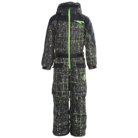 Snow Dragons Half Cab Snow Suit - Insulated (For Little Boys)