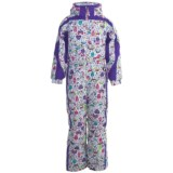 Snow Dragons Cartwheel Snow Suit - Insulated (For Little Girls)