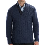 Cullen Wool Cable-Knit Sweater (For Men)