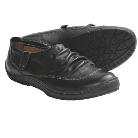 Kalso Earth Invoke Shoes - Leather, Side Zip, Slip-On (For Women)