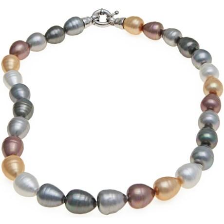 Joia De Majorca Baroque Pearl Necklace - Pear Shape