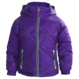 Snow Dragons Somersault Jacket - Insulated (For Little Girls)