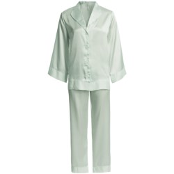 Oscar de la Renta Pink Label Romantic Dreams Pajamas - Long Sleeve (For Women)