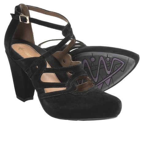 Earthies Saravena Strappy Pumps - Suede (For Women)