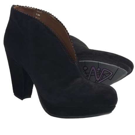 Earthies Halley Ankle Boots - Suede (For Women)