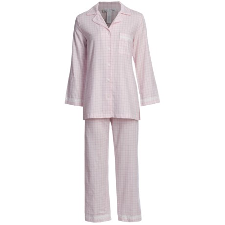 Oscar de la Renta Refined Comfort Flannel Pajamas (For Women)