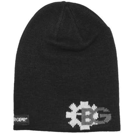 Boulder Gear Jacquard Beanie Hat (For Kids)