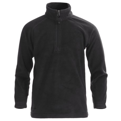 Boulder Gear Charger Pullover Fleece Jacket - Zip Neck (For Boys)