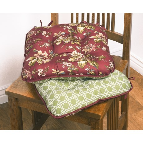 Waverly Reversible Chair Pads - Set of 2