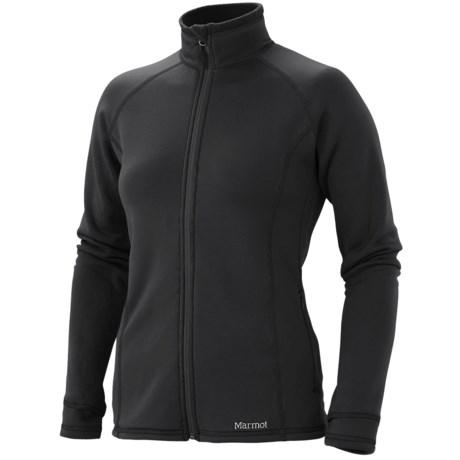 Marmot Power Stretch Jacket - Polartec® Power Stretch® (For Women)