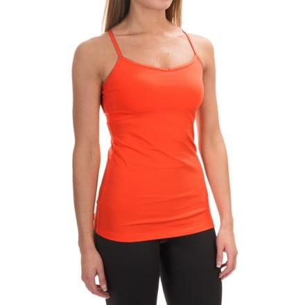 lucy Yoga Siren Top - Supplex® Nylon, Racerback (For Women) in Vermillion - Closeouts