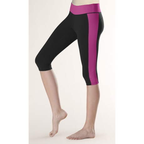 Lucy X-Training Colorblock II Knee Pants (For Women)