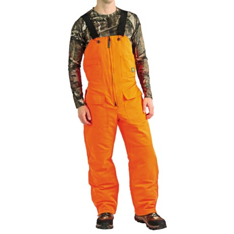 Natural Habitat Blaze Orange Bib Overalls - Insulated (For Men)