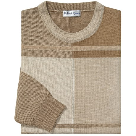 Bullock & Jones Palazzo Sweater - Crew Neck (For Men)