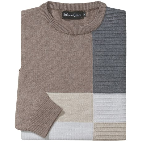 Bullock & Jones Wool Colorblock Sweater (For Men)