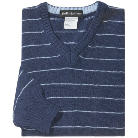 Bullock & Jones Stripe Sweater - Wool-Cashmere (For Men)
