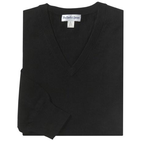 Bullock & Jones Merino Wool Sweater - V-Neck (For Men)