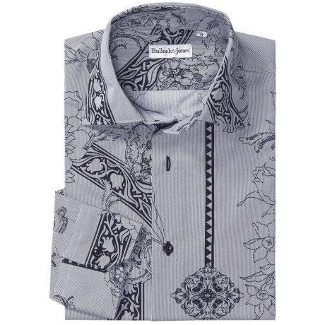 Bullock & Jones Floral-Print Shirt - Long Sleeve (For Men)