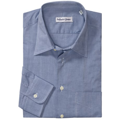 Bullock & Jones Cotton Chambray Shirt - Long Sleeve (For Men)
