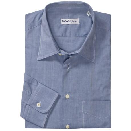 Bullock & Jones Cotton Chambray Shirt - Long Sleeve (For Men)