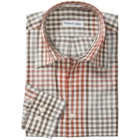 Bullock & Jones Cotton Check Shirt - Long Sleeve (For Men)