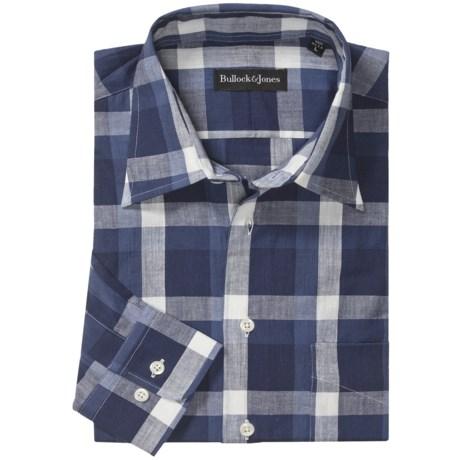 Bullock & Jones Point Collar Shirt - Long Sleeve (For Men)
